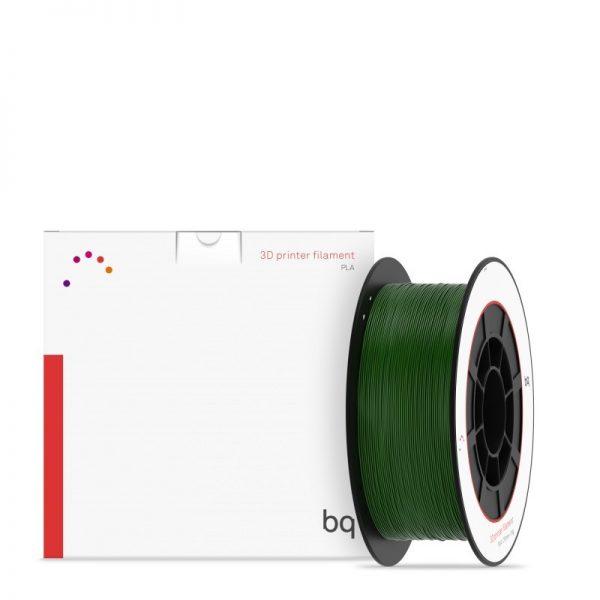 Bobina PLA Premium BQ 1.75 mm Verde Botella